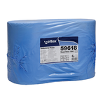 Laveta industriala hartie, 3 straturi, 180 m, 500 foi, 2 buc | set, CELTEX
