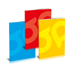 Caiet A4, 80 file, dictando | matematica, 5 buc/set, Premium