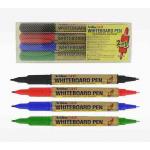 Marker pentru tabla magnetica | whiteboard, 2 in 1 (2 varfuri), 4 culori | set, ARTLINE 541T