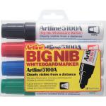 Marker pentru tabla magnetica | whiteboard, 5 mm, 4 culori | set, ARTLINE 5100A