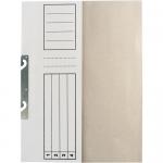 Dosar incopciat 1/2, carton alb 230 gr/mp, 10 bucati | set