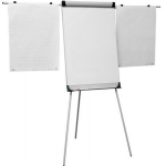 Flipchart magnetic, brate laterale, 70x100 cm, SMART