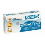Capse 24/6, 1000 buc/cut, RAPID Strong