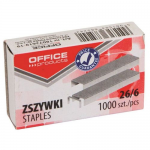 Capse 26/6, 1000 buc/cut, OFFICE PRODUCTS