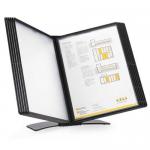 Suport de prezentare | Display birou, capacitate 10 buzunare, PROBECO EasyMount