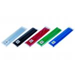 Baghete | Sine prindere documente, A4, 8 mm, 10 buc/set, DONAU