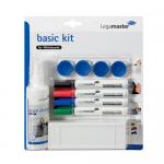 Set accesorii | Starter-kit pentru tabla alba | whiteboard, LEGAMASTER Basic Kit