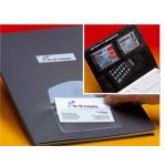 Buzunar PP autoadeziv carti vizita, 65x90 mm, 10 buc/set, PROBECO