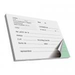 Chitantier autocopiativ, A6, 2 ex, 100 file | carnet