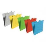 Dosar suspendabil, bagheta metalica, carton color 230 gr/mp, FALKEN