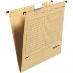 Dosar suspendabil cu bagheta metalica, carton 230 gr/mp, FALKEN