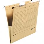 Dosar suspendabil cu burduf, bagheta metalica, carton 230 gr/mp, FALKEN