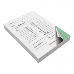 Monetar autocopiativ, A6, 2 ex, 100 file | carnet