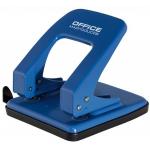 Perforator metalic, 40 coli, albastru, OFFICE PRODUCTS