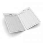 Registru intrare-iesire corespondenta, A4, 100 file | carnet