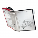 Sistem de prezentare | Display perete, 10 buzunare, DURABLE Sherpa