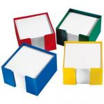 Suport plastic pentru cub hartie, 10x10x4.5 cm, ARK