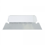 Suport plastic | vizor pentru eticheta dosar suspendabil, 25 bucati | set, ELBA Vertiflex