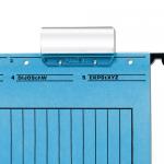 Suport plastic | vizor pentru eticheta dosar suspendabil, 50 bucati | set, FALKEN