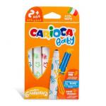 Carioca super-lavabila, 6 culori | cutie, CARIOCA Baby