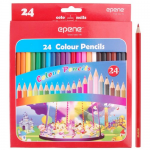 Creioane colorate, 24 culori | cutie, EPENE