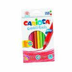 Creioane colorate, 12 culori | cutie, CARIOCA Maxi