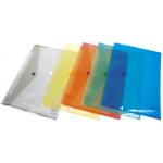 Mapa plastic, A4, cu capsa, 180 microni, 12 bucati | set, DONAU