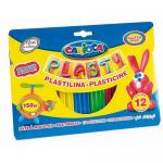 Plastilina 12 culori, 150 gr | cutie, CARIOCA Plasty