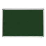 Tabla verde magnetica pentru creta, rama aluminiu, 240x120 cm, OPTIMA