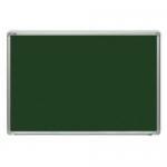 Tabla verde magnetica pentru creta, rama aluminiu, 150x120 cm, OPTIMA