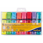 Textmarker | evidentiator, 1-5 mm, 8 culori | set, MOLIN