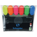 Textmarker | evidentiator, 1-5 mm, 6 culori | set, SCHNEIDER Job 150