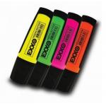 Textmarker | evidentiator, 1-4 mm, 4 culori | set, EXXO