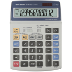 Calculator de birou, 12 digits, ecran rabatabil, SHARP EL-2125C
