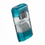 Ascutitoare simpla metalica, container plastic, radiera, M+R