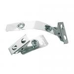 Clips metalic pentru ecuson, 25 buc | cutie