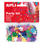 Confeti petrecere, forma floare | stea, APLI