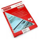 Etichete albe autoadezive, colturi rotunjite, 4/A4, 99.1x139 mm, 100 coli | top, TANEX