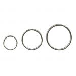 Inele metalice pentru chei, 25 mm, 100 buc | set, ALCO