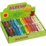 Plastilina 12 culori, 1.2 kg | cutie, ALPINO