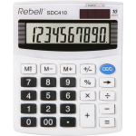 Calculator de birou, 10 digits, REBELL SDC-410