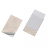 Buzunar PP autoadeziv carti vizita, 62x93 mm, 10 buc/set, DURABLE Pocketfix