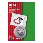 Carton color ondulat, A4, 180 gr/mp, 10 culori, APLI