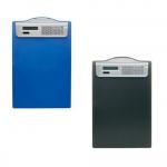 Clipboard simplu A4, plastic, cu calculator, ALCO