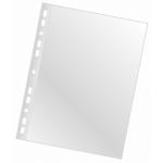 Folie protectie documente A4, cristal, 120 microni, 100 bucati | cutie, Q-CONNECT