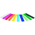 Hartie creponata, 200x25 cm, 10 culori | set, GIMBOO