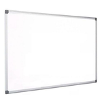 Tabla alba magnetica | whiteboard, rama aluminiu, 120x90 cm, KOOBIC