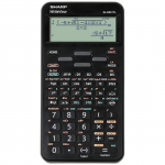 Calculator stiintific, 16 digits, 422 functiuni, negru, SHARP EL-W531TL