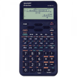 Calculator stiintific, 16 digits, 422 functiuni, albastru, SHARP EL-W531TL