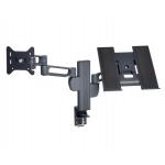 Suport cu brat dublu pentru monitor si laptop KENSINGTON SmartFit® Mounting Arm